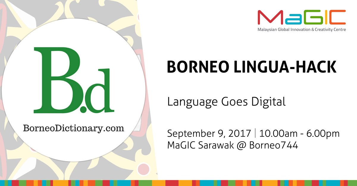 Borneo Lingua-Hack, September 9th, MaGIC Sarawak @ Borneo 744